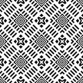Background, abstract geometric seamless pattern, vector