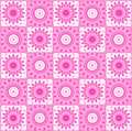 Background with abstract pink pattern repeating Stock Photo