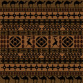 Background with African motifs Stock Photos