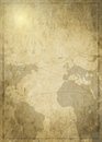 Background Art Ancient Map Royalty Free Stock Photo