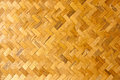 Background of Bamboo wood pattern texture. Royalty Free Stock Photo