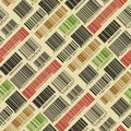 Background with bar codes. Royalty Free Stock Photo