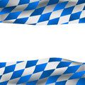 Background with bavarian flag Stock Image