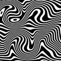 Vector background liquify black and white. Inspired from zebra liquid pattern texture.