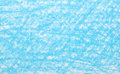 Background blue crayon drawing Royalty Free Stock Photo