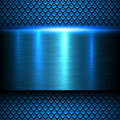 Background blue metal texture Royalty Free Stock Photo