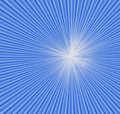 Background. Blue radial rays. Stock Image