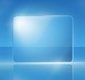 Background with a blue sign Royalty Free Stock Images