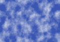 Background of blue sky the abstract clouds and Royalty Free Stock Image