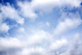 Background from the blue sky with white clouds abstract Royalty Free Stock Photos