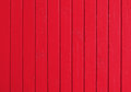 Background from the boards painted by red paint Royalty Free Stock Photo