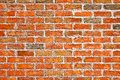 Background of brick wall texture brown Royalty Free Stock Images