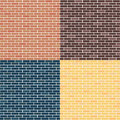 Background Of Brick Walls. Red...