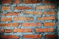 Background of brickwall texture red brown Stock Image