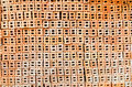 Background of brickwall texture red brown Royalty Free Stock Image