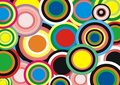 Background : bright circles Royalty Free Stock Photography