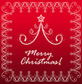 Background  card for new year and for Christmas Royalty Free Stock Photos