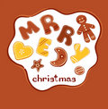 Background - Christmas cakes Royalty Free Stock Photo