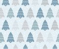 Background christmas trees illustration with Royalty Free Stock Photography