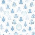 Background christmas trees vector illustration with Royalty Free Stock Image