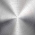 Background with Circular Metal Brushed Texture Royalty Free Stock Photo