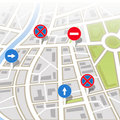 Background of city map Royalty Free Stock Photography