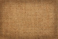 Background of coarse linen burlap Stock Photo
