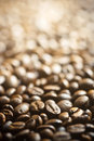 Background of coffee beans Royalty Free Stock Image