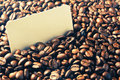 Background of coffee beans Royalty Free Stock Photography