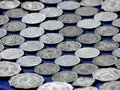 Background of Coins Royalty Free Stock Image