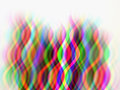Background color curve the of the colorful intertwine unreal Stock Image