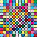 Background in colored squares Royalty Free Stock Photos