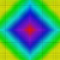 Background of colored squares arranged in a matrix Stock Photos