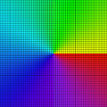 Background of colored squares arranged in a matrix Royalty Free Stock Photography