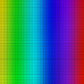 Background of colored squares arranged in a matrix Royalty Free Stock Images
