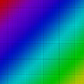 Background of colored squares arranged in a matrix Royalty Free Stock Image
