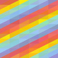 Background with colored stripes abstract seamless rainbow vector illustration Stock Photography