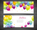 Background with colorful balloons vector illustration eps of Royalty Free Stock Photo