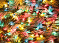 Background of colorful Christmas lights Stock Photos