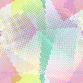 Background colorful halftone gradient vector. Seamless pattern. Royalty Free Stock Photo