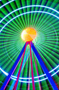 Background Of Colorful Light T...