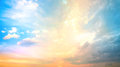 Background of colorful sky concept