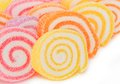 Background of  Colorful  sweet fruit candy. Royalty Free Stock Photos