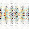 Background with the coloured circles in a vector Royalty Free Stock Photo
