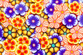 Background coloured small flowers Royalty Free Stock Photo