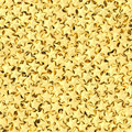 Background composed of many golden stars high resolution d image Royalty Free Stock Photography