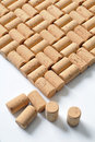 Background of corks Stock Photo