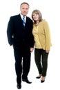 Background couple elderly happy isolated love over white Στοκ φωτογραφίες με δικαίωμα ελεύθερης χρήσης