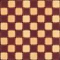 Background with creamy and chocolate cookies as checkerboard can be used as Stock Photos