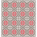 Background of the Cross. Geometric Ornaments.